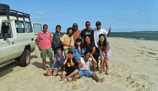 Moreton Island Tour Group