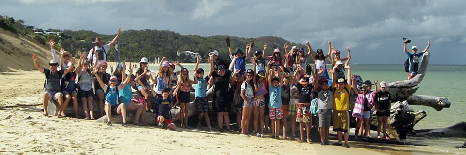 School and Educational Camps on Moreton Island and Fraser